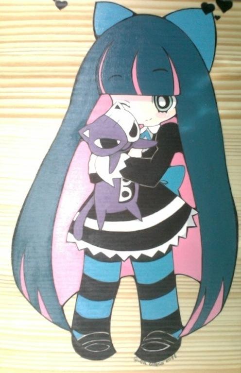 Tags: Anime, Panty and Stocking With Garterbelt, Honekoneko, Anarchy Stocking