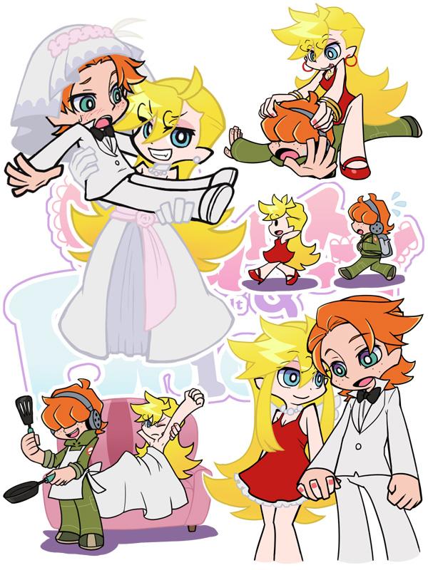 and with garterbelt image 714602 zerochan anime image board