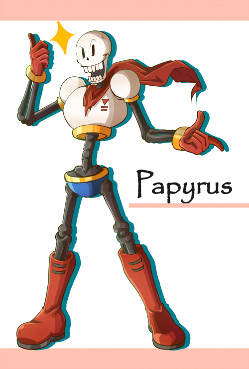 Tags: Anime, Pixiv Id 1865831, Undertale, Papyrus