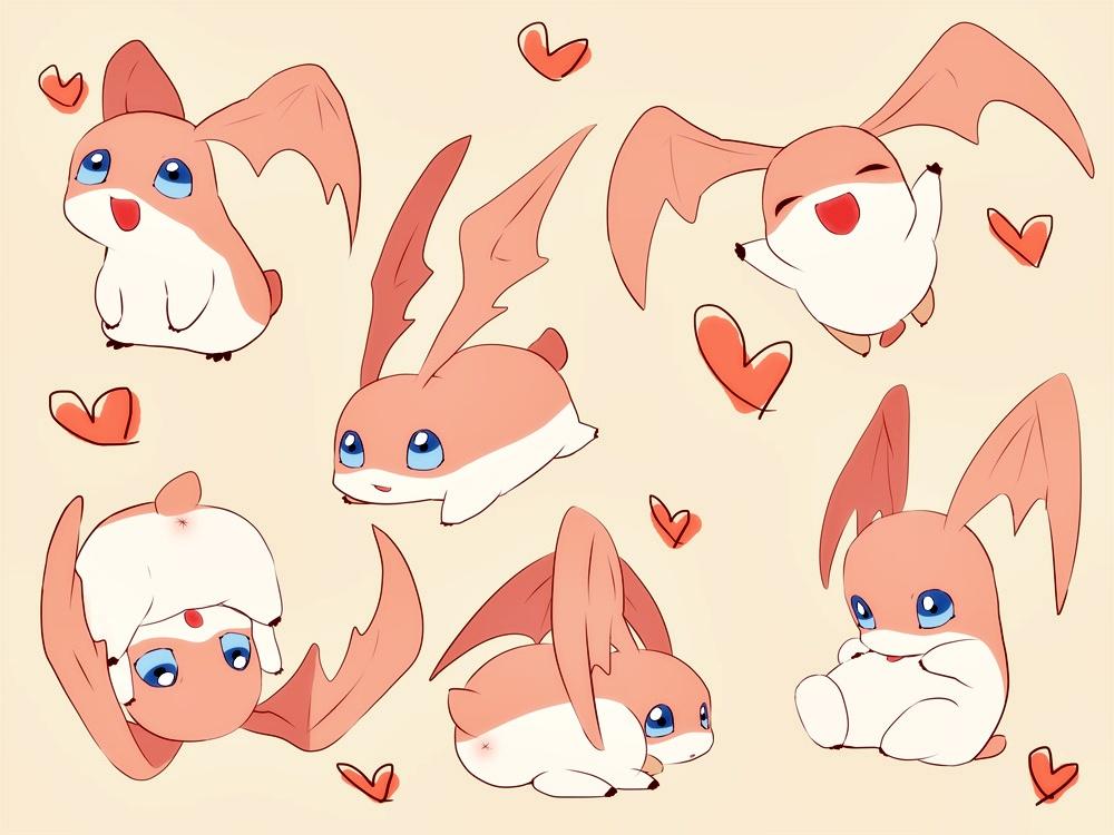 Patamon Digimon Adventure Zerochan Anime Image Board