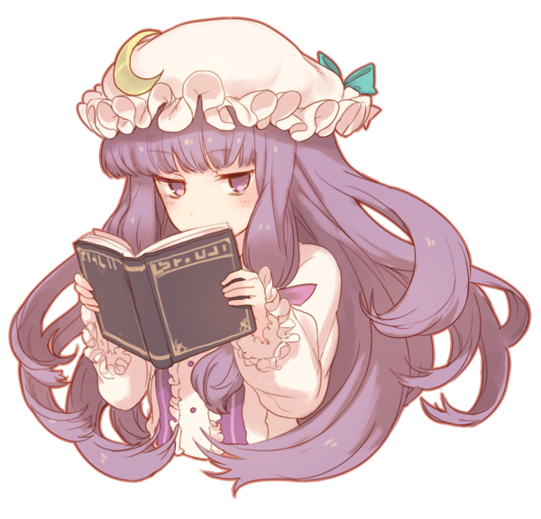 Tags: Anime, Kikugetsu, Touhou, Patchouli Knowledge, Fanart From Pixiv, Fanart, PNG Conversion, Pixiv