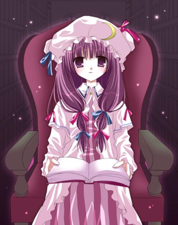 Tags: Anime, Shirogane Hina, Touhou, Patchouli Knowledge