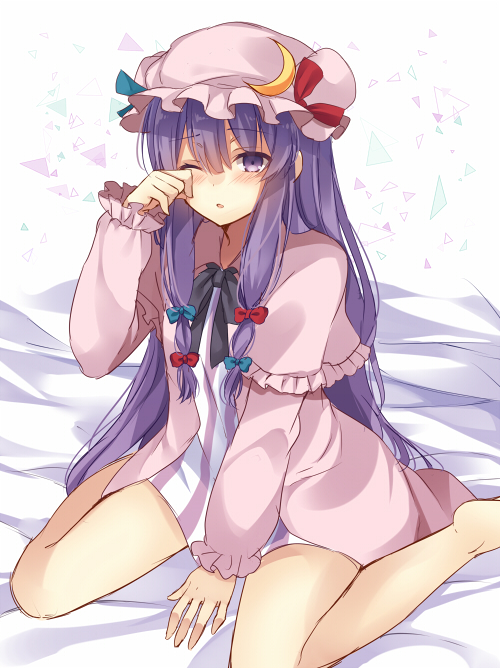 Tags: Anime, nagisa3710, Touhou, Patchouli Knowledge, Fanart