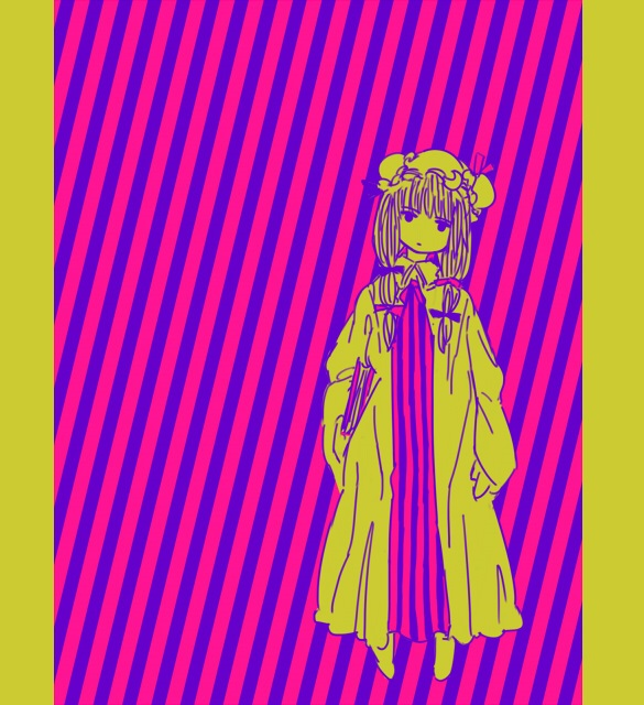 Tags: Anime, Pixiv Id 91818, Touhou, Patchouli Knowledge