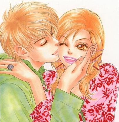 Tags: Anime, Peach Girl, Kairi Okayasu, Adachi Momo, Kiss On The Cheek