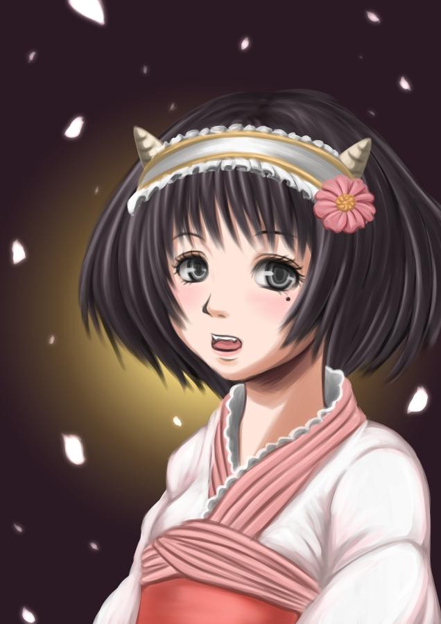 Tags: Anime, Pixiv Id 33894, Hoozuki no Reitetsu, Peach Maki, Fanart, Pixiv