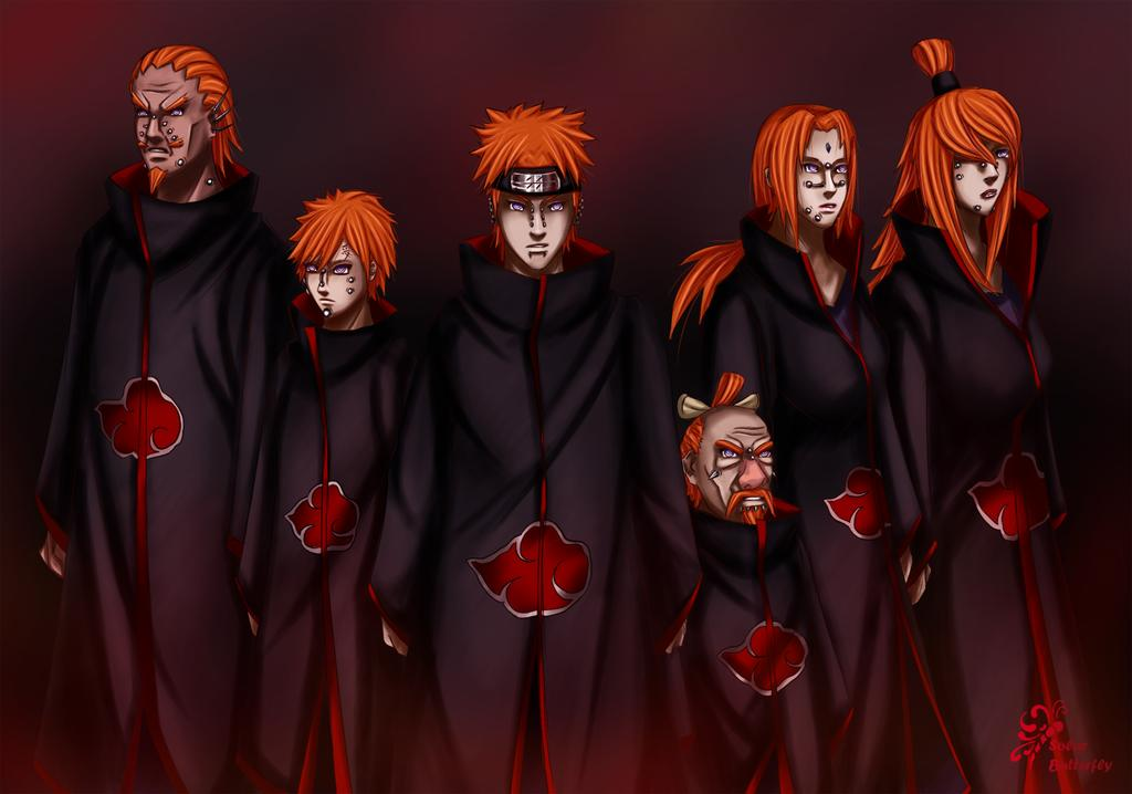 naruto six paths of pain wallpaper