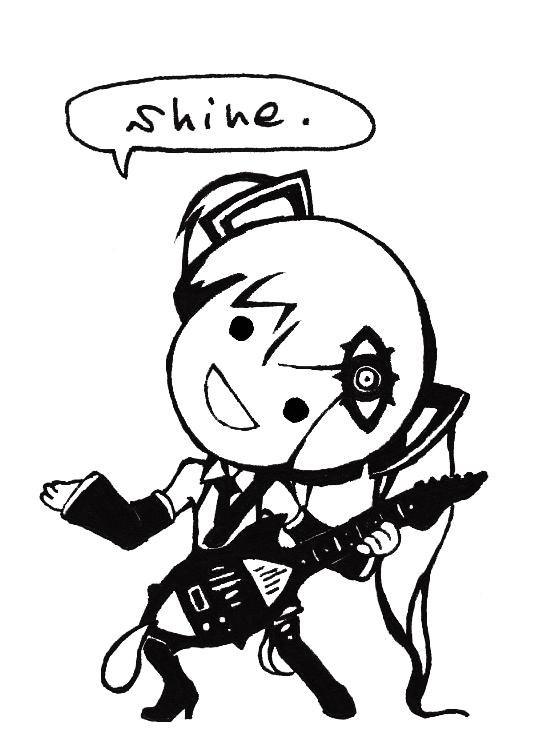 Tags: Anime, VOCALOID, Hatsune Miku, Mobile Wallpaper, Nashimoto-p, Pentenshi ga Warau Koro ni, When Crooks Laugh