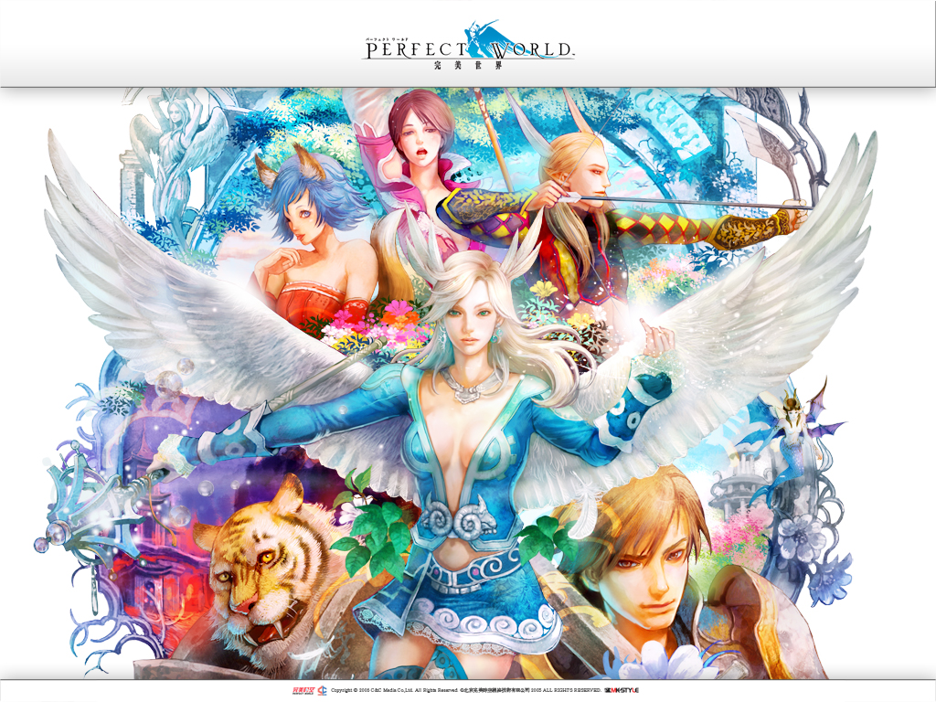 Perfect World Entertainment Wallpaper Zerochan Anime Image Board