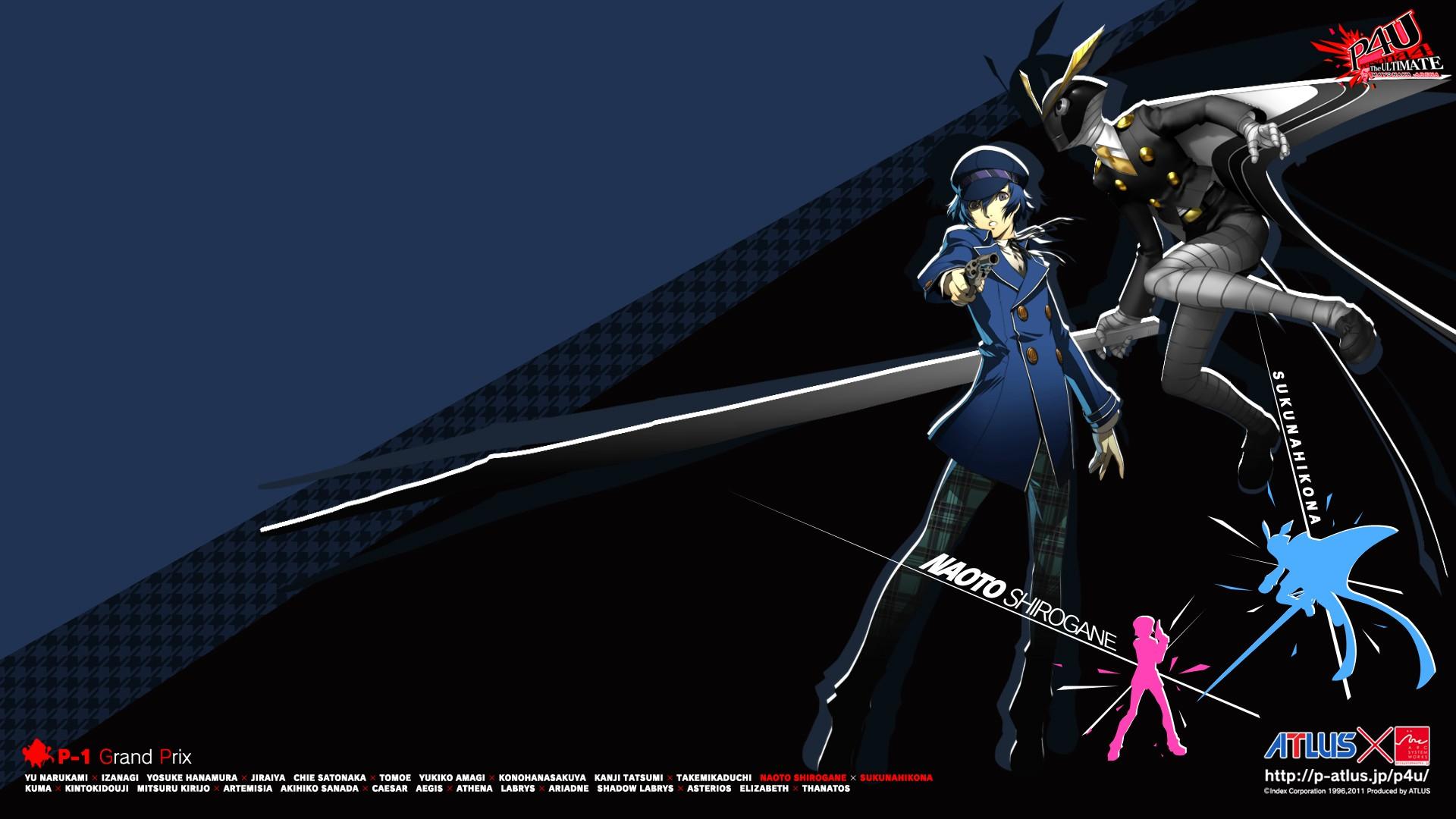 Persona Arena Wallpaper 19 Fav Persona 4 The Ultimate