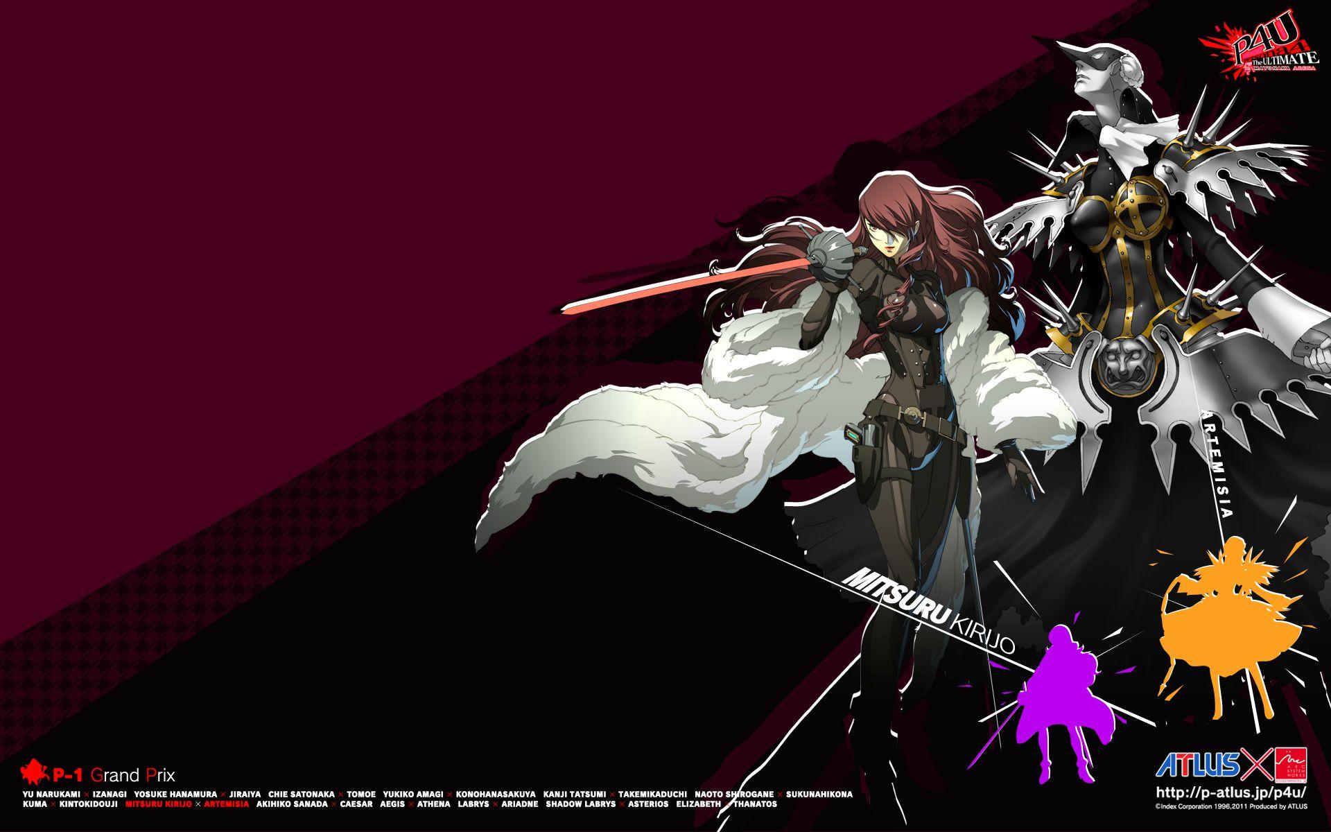 Persona Arena Wallpaper 13 Fav Persona 4 The Ultimate