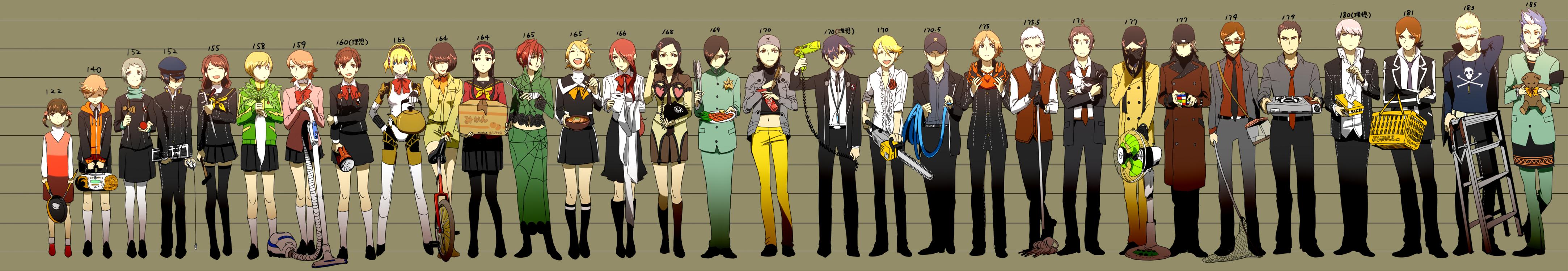 Persona 4 Anime Characters : Shin megami tensei persona zerochan anime image board
