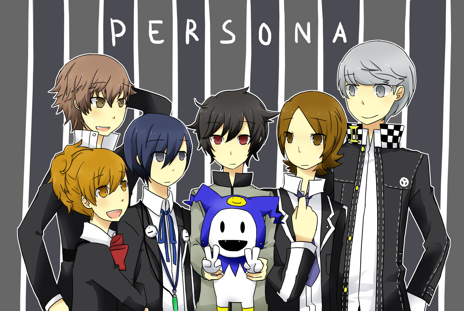 Persona 4 Anime Characters : Persona series image  zerochan anime board