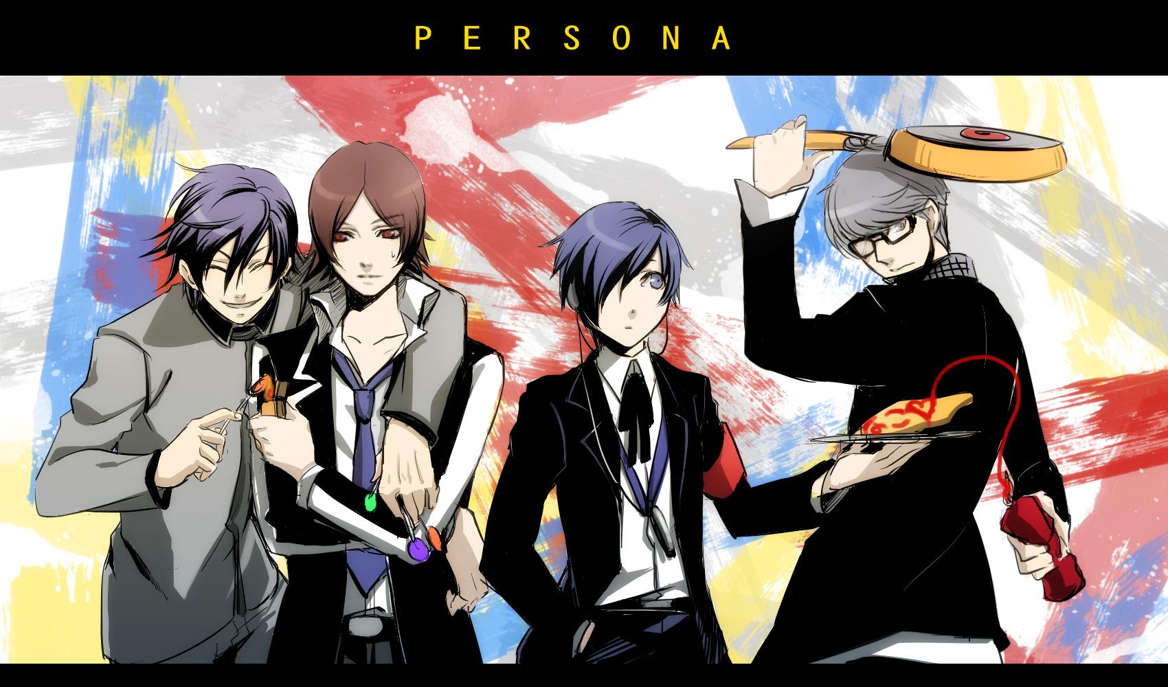4 Pics 1 Anime Characters : Shin megami tensei persona revelations