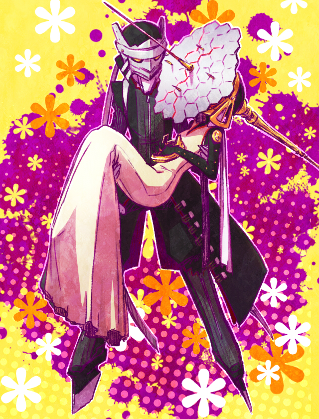 Tags: Anime, Kaniharu, Shin Megami Tensei: PERSONA 4, Himiko (Persona), Izanagi, Fanart, Pixiv
