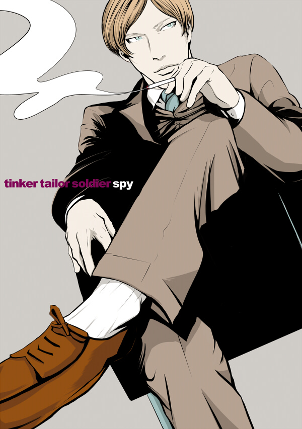 Tags: Anime, Pixiv Id 3478595, Tinker Tailor Soldier Spy, Peter Guillam, Pixiv
