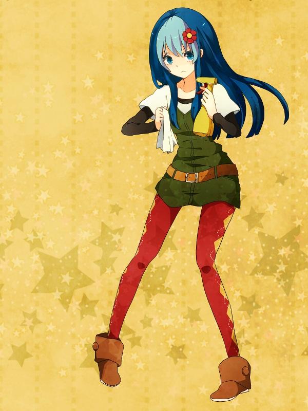 Tags: Anime, Monako, Happy Tree Friends, Petunia (HTF), Fanart