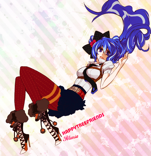 Tags: Anime, M (pixiv 2040308), Happy Tree Friends, Petunia (HTF), Artist Request, Fanart