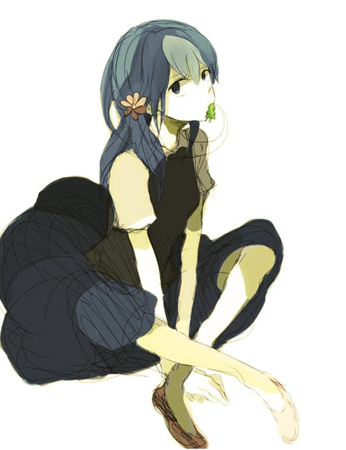 Tags: Anime, Tsuda, Happy Tree Friends, Petunia (HTF), Sketch