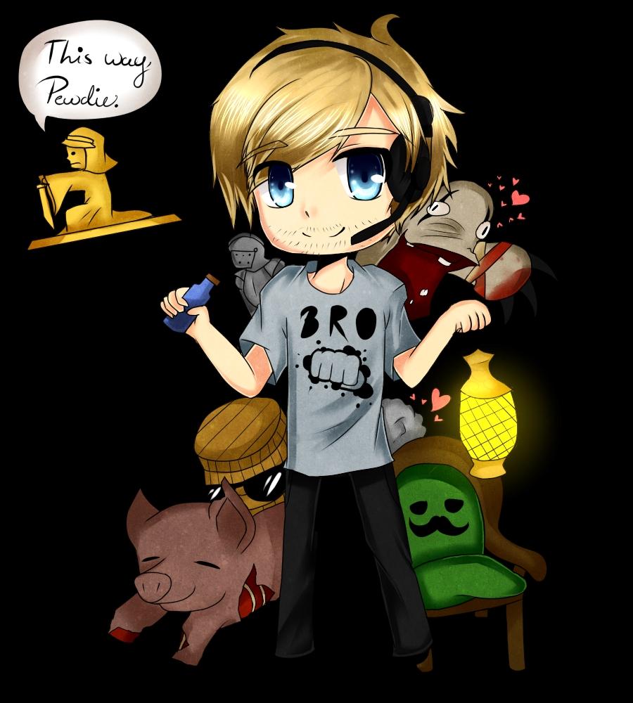 PewDiePie - YouTube - Image #1157727 - Zerochan Anime ...
