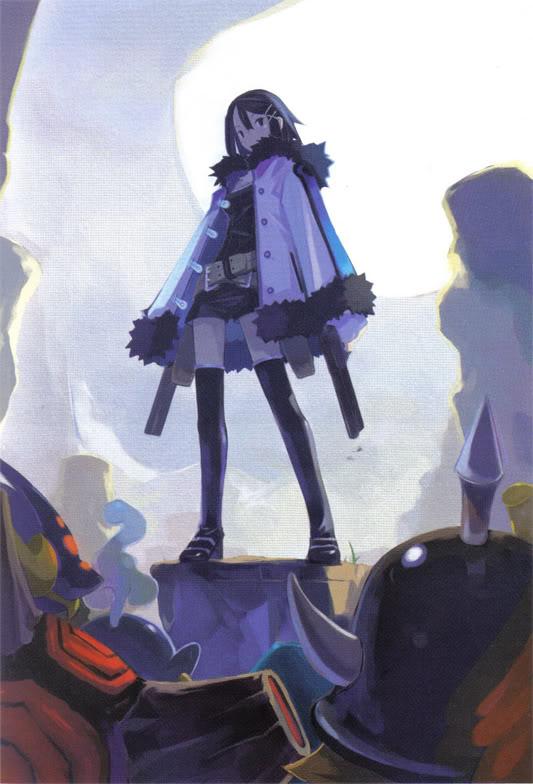 Tags: Anime, Harada Takehito, Nippon Ichi Software, Phantom Kingdom, Asagiri Asagi, Official Art, Scan