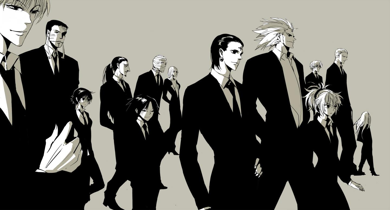 Tags  Anime  Apol  Hunter x Hunter  Feitan  Bonolenov  Kortopi  UvoginPhantom Troupe Members