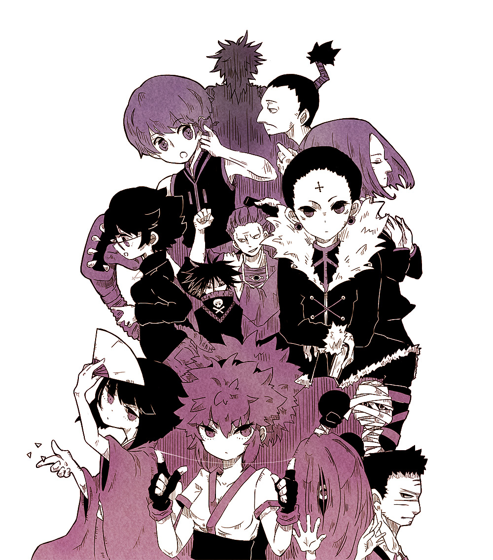 Hunter X 2011 Phantom Troupe Wallpaper
