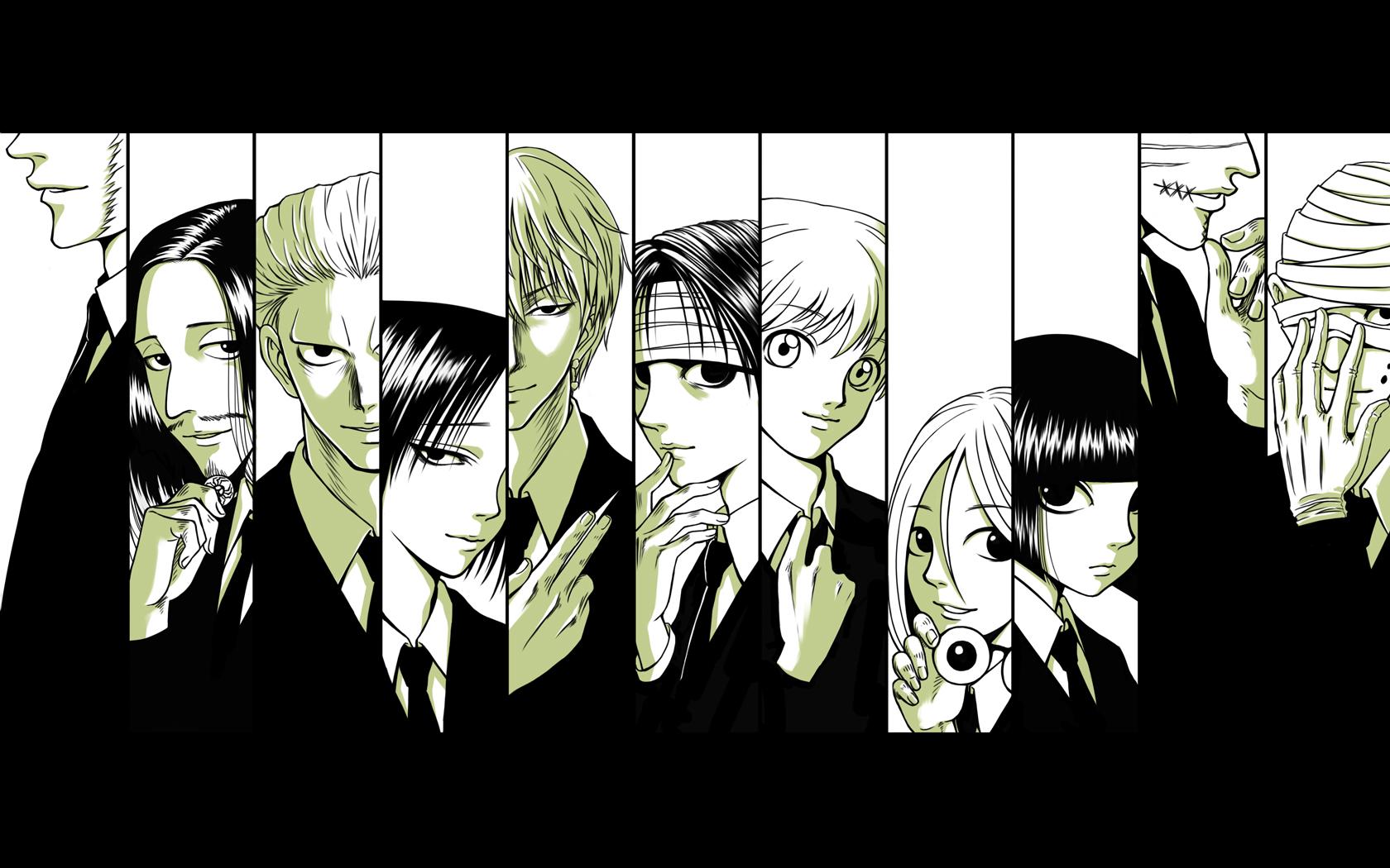 Tags Anime MALeaf Hunter X BlazBlue Shalnark Feitan