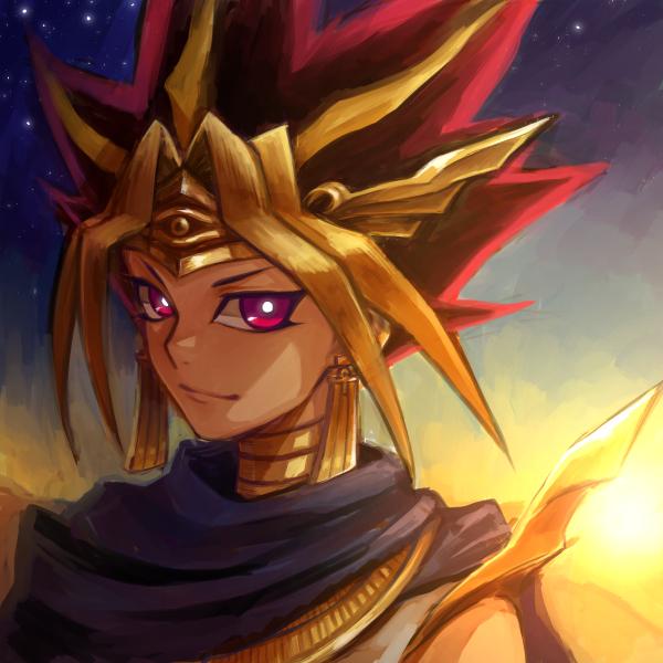 Tags: Anime, Pixiv Id 403610, Yami Yugi, Pharaoh Atem, Fanart, Fanart From Pixiv, Pixiv