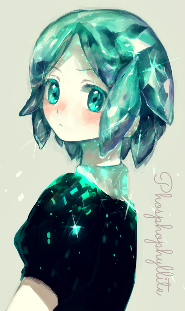 Tags: Anime, Kyanarinu, Houseki no Kuni, Phosphophyllite (Houseki no Kuni), Fanart From Pixiv, Mobile Wallpaper, Pixiv, Fanart