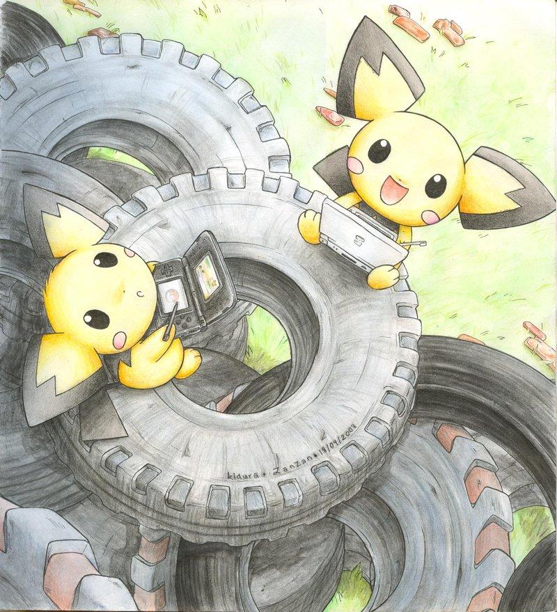 Pichu Pok 233 Mon Zerochan Anime Image Board