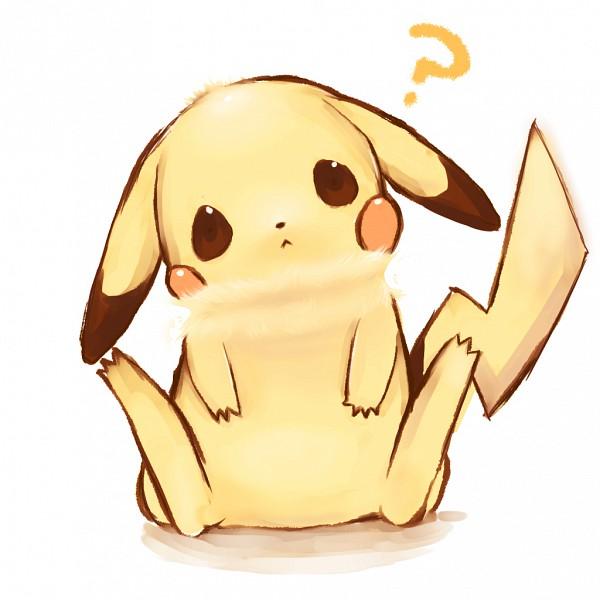Tags: Anime, Yama (Pixiv39917), Pokémon, Pikachu, Question Mark, 1024x1024 Wallpaper