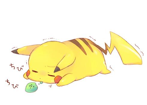 Tags: Anime, Tatituteto, Pokémon, Pikachu, Trembling