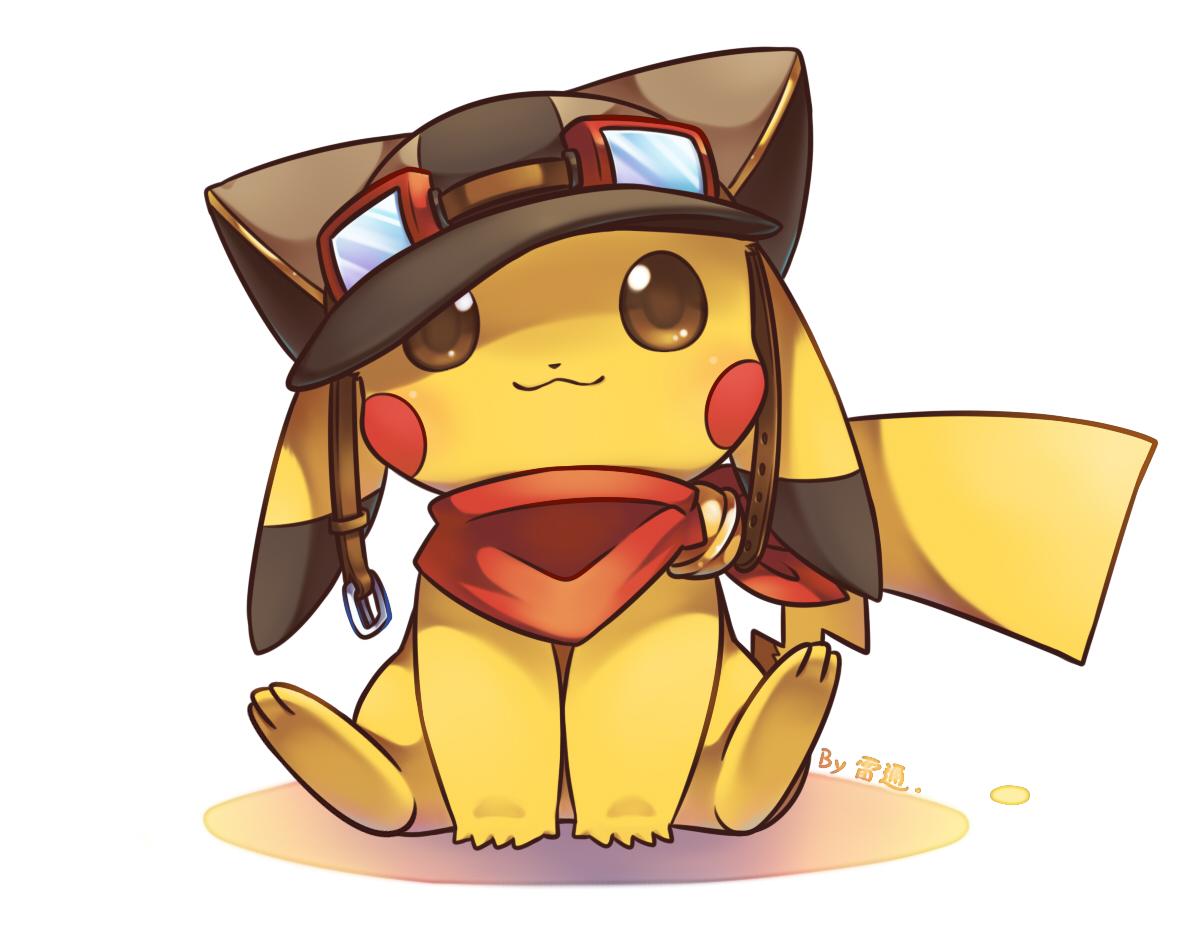 Pikachu 1550398 zerochan - Pikachu kawaii ...