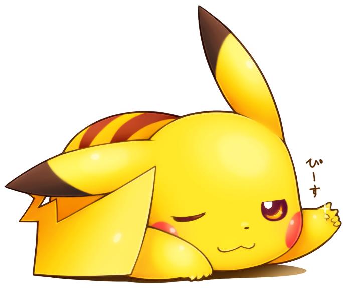 Pikachu Pok 233 Mon Image 1558820 Zerochan Anime Image Board