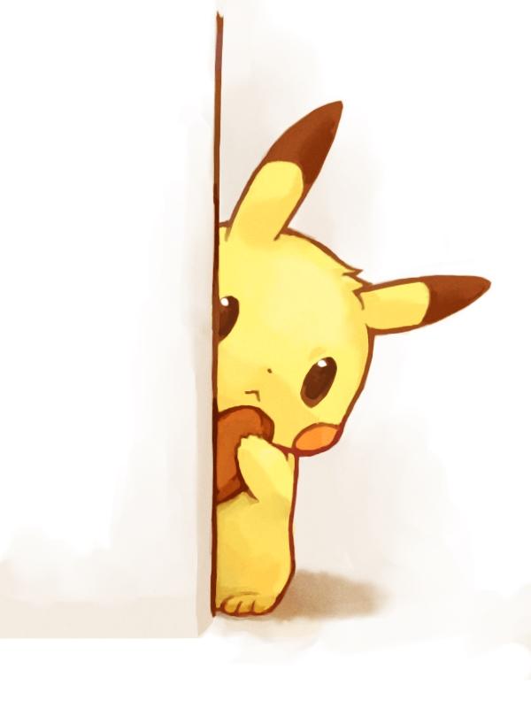 Tags: Anime, Mochi-san (Mangaka), Pokémon, Pikachu, Pixiv, Fanart From Pixiv, Fanart, PNG Conversion