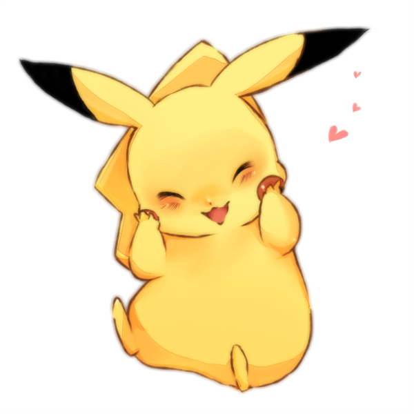 Tags: Anime, Pokémon, Pikachu, Yellow (Pokémon), Adorably Cute, No People, :3