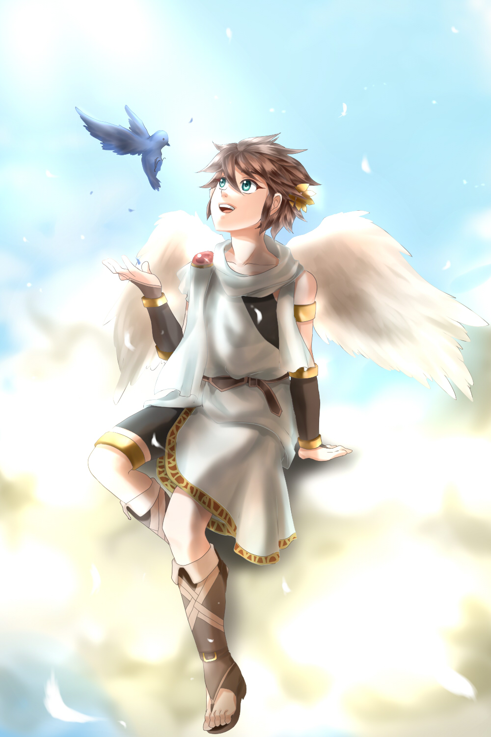Kid Icarus Uprising And On Pinterest