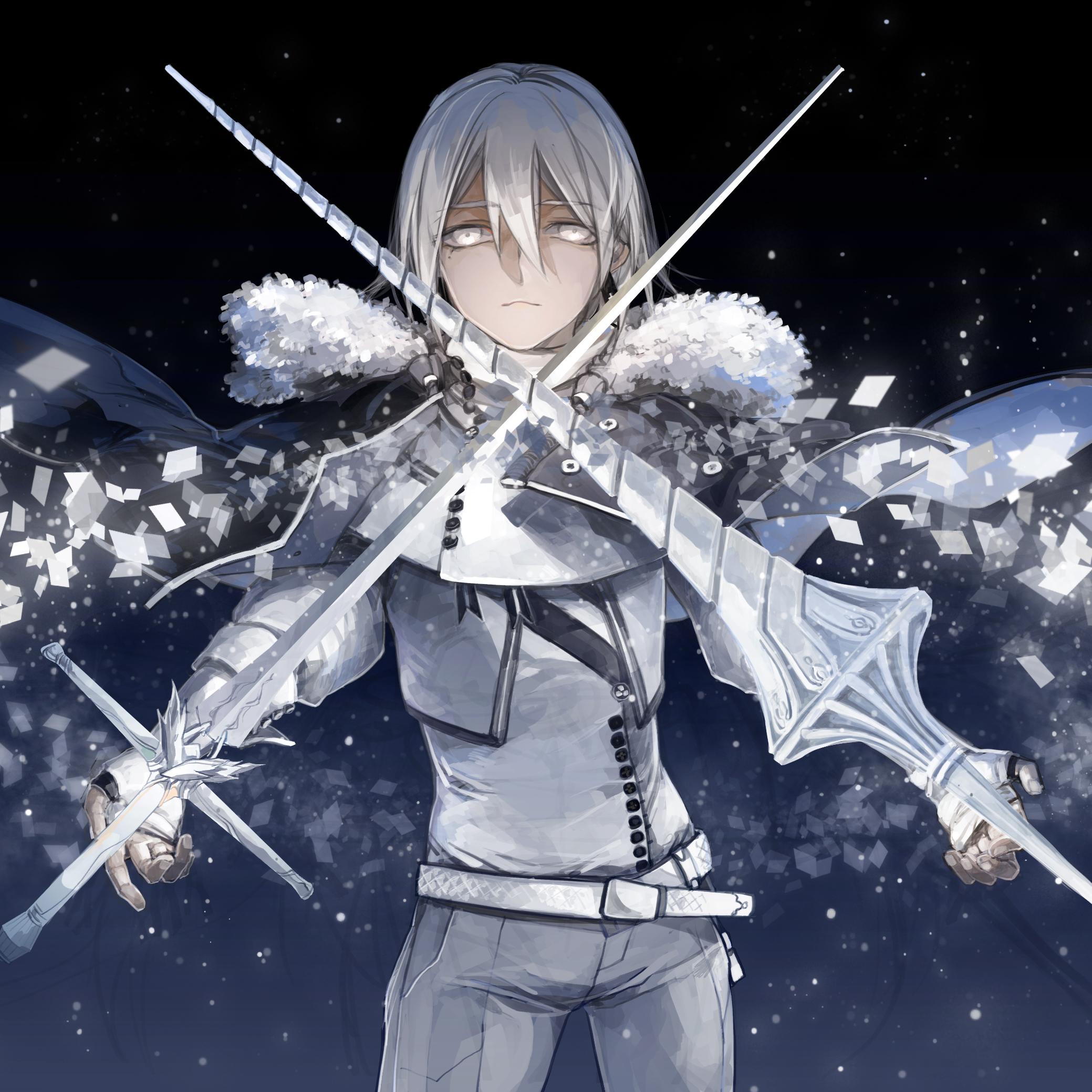 Anime Characters Use Dual Swords : Pixiv fantasia fallen kings zerochan