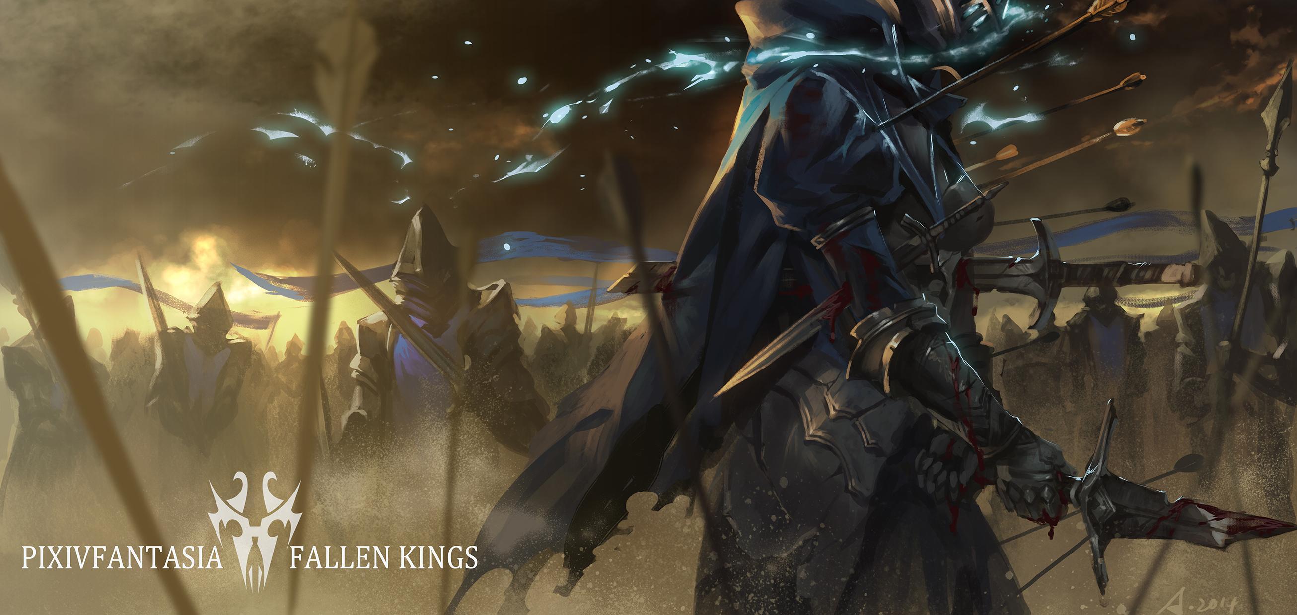 Ao No Mavis Pixiv Fantasia Fallen Kings Zerochan Anime Image Board