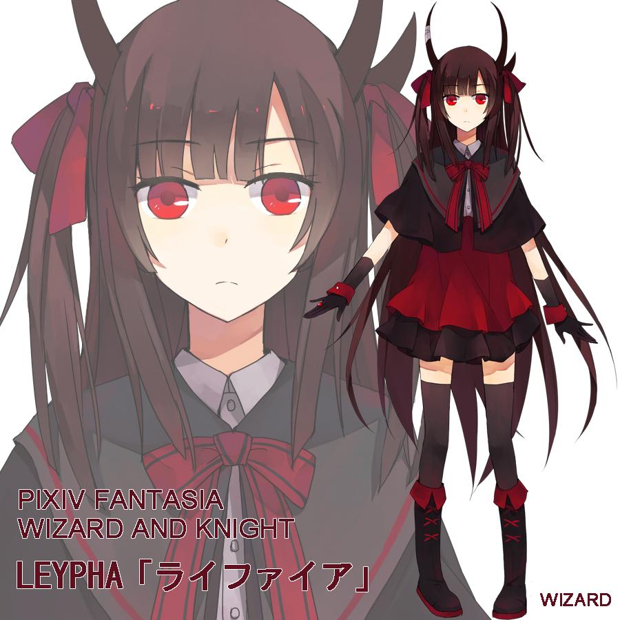 Demon, Female, Solo, Brown Hair - Zerochan Anime Image Board