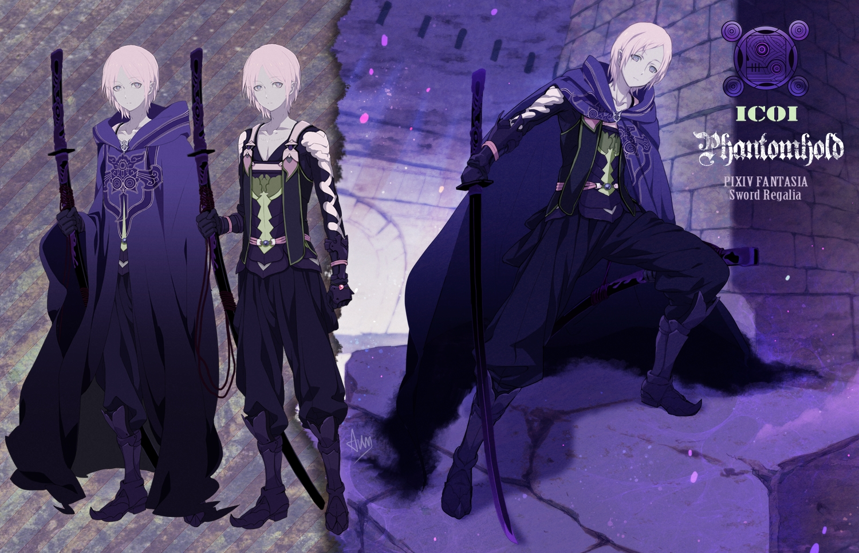 Anime Characters Using Sword : Pixiv fantasia sword regalia series