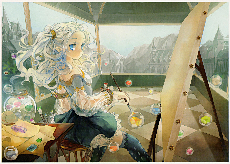 Художница аниме картинки