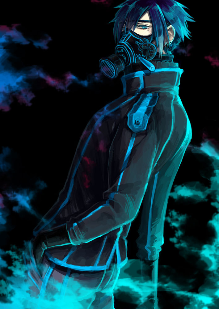 Chicos sexys con Gas Mask <3 Pixiv.Id.10989257.full.1798765