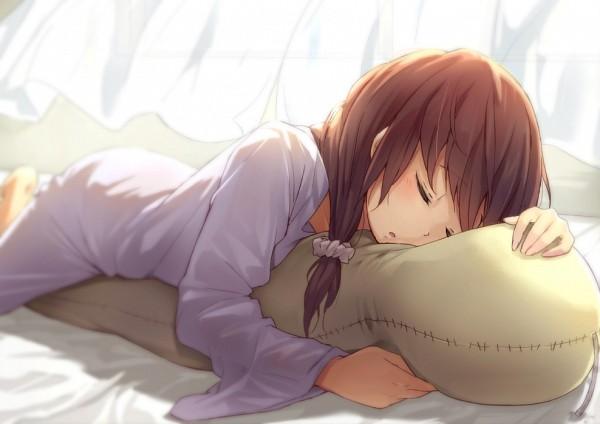 Tags: Anime, Pixiv Id 11246147, Pillow, Sleepwear, Open Window, Window