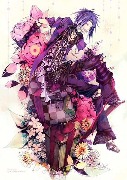 Tags: Anime, Pixiv Id 17380, Spotted Print, Spotted, Collar (Animal)