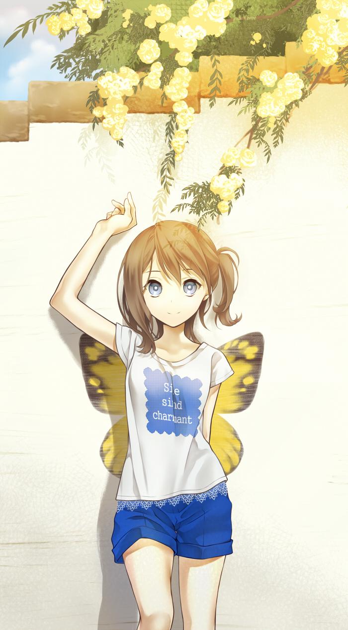 картинки девушек аниме в шортах