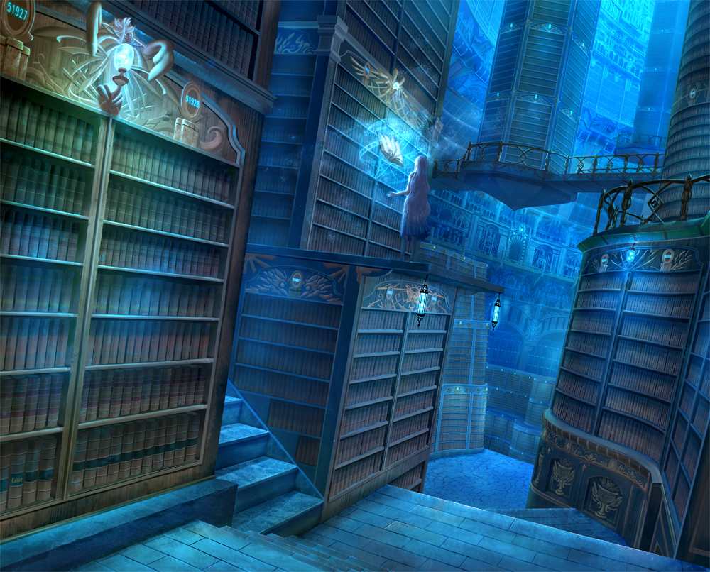 my magic library by - photo #8