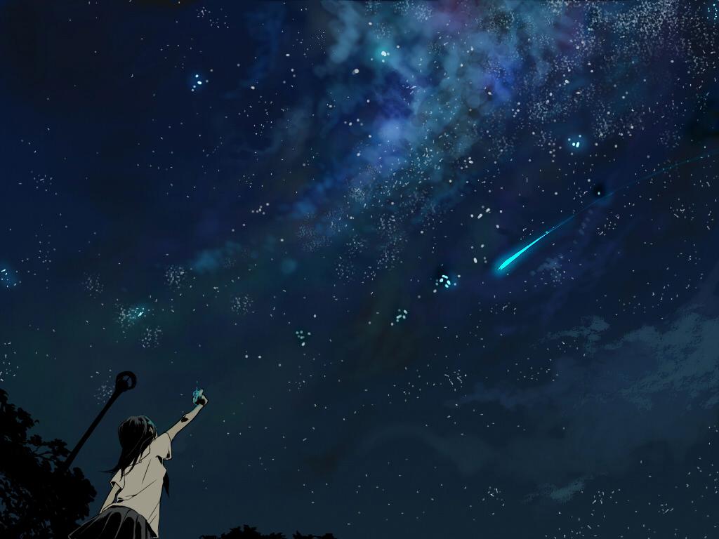 Tags: Anime, Pixiv Id 301809, Stargazing, Marble, Shooting Stars, Pixiv
