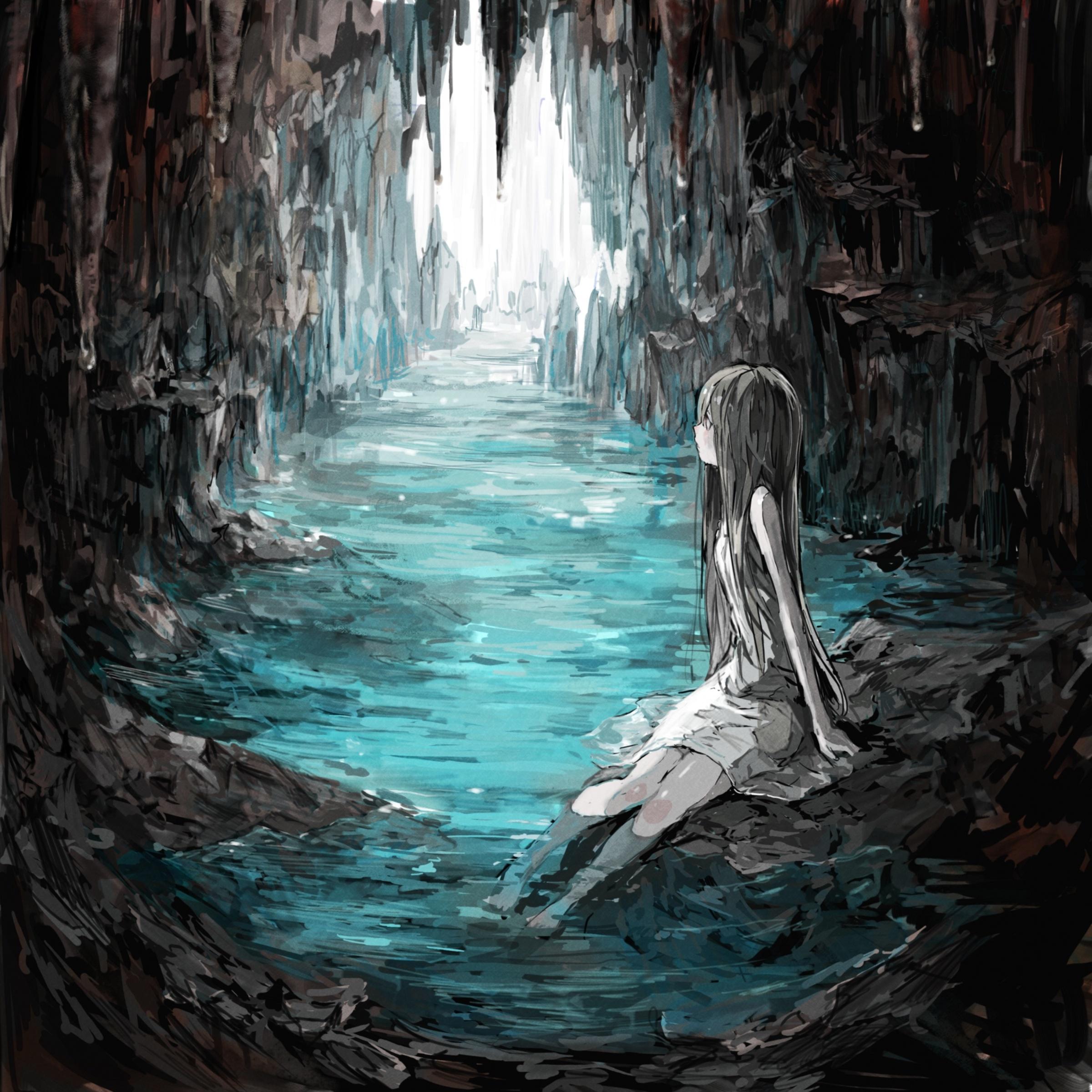 cave zerochan anime image board